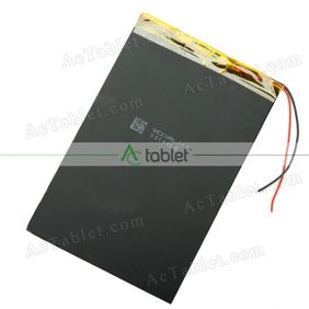 "Replacement Battery for RCA RCT6691W3 9"" Dual Core Tablet PC 3.7V"
