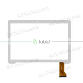 YLD-CEGA461-FPC-AO Digitizer Glass Touch Screen Replacement for 10.1 Inch MID Tablet PC
