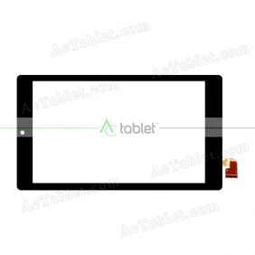 LWGB07000530 REV-A2 Digitizer Glass Touch Screen Replacement for 7 Inch MID Tablet PC