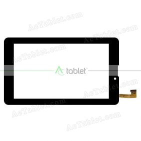 DXP2-0187-070B Digitizer Glass Touch Screen Replacement for 7 Inch MID Tablet PC
