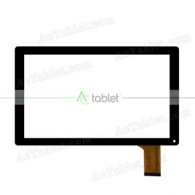 XC-PG1010-037-FPC-A0 Digitizer Glass Touch Screen Replacement for 10.1 Inch MID Tablet PC