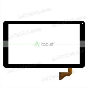 Replacement Touch Screen for Denver TAQ-10172 MK3 Quad Core 10.1 Inch Tablet PC