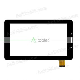 WJ1123-FPC-V1.0 Digitizer Glass Touch Screen Replacement for 7 Inch MID Tablet PC