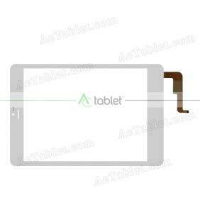 NJG078011ACG0F-V1 Digitizer Glass Touch Screen Replacement for 8 Inch MID Tablet PC