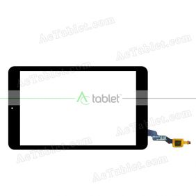 LCGB0801102REV-A2 Digitizer Glass Touch Screen Replacement for 8 Inch MID Tablet PC