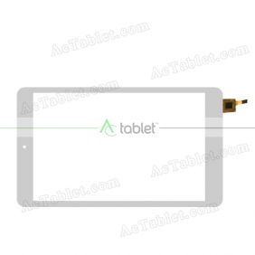 080337R01-V1 Digitizer Glass Touch Screen Replacement for 8 Inch MID Tablet PC