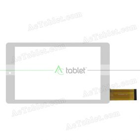 QCY-080028V01 Digitizer Glass Touch Screen Replacement for 7.85 Inch MID Tablet PC