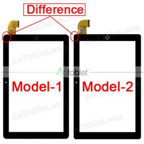 FPC-FC101J296-00 Digitizer Glass Touch Screen Replacement for 10.1 Inch MID Tablet PC