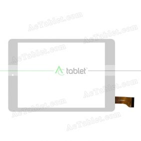 CN056FPC-V1 Digitizer Glass Touch Screen Replacement for 7.9 Inch MID Tablet PC