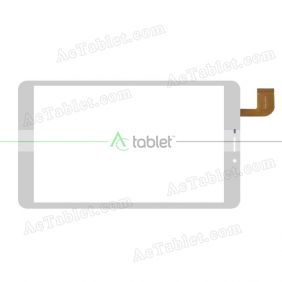 ZYD080-57V01 Digitizer Glass Touch Screen Replacement for 8 Inch MID Tablet PC