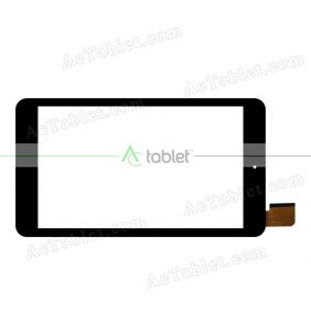 XCL-S80040A-FPC1.0 Digitizer Glass Touch Screen Replacement for 8 Inch MID Tablet PC