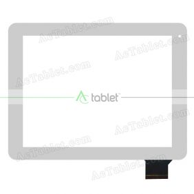 HS1205 SC5079 Digitizer Glass Touch Screen Replacement for 9.7 Inch MID Tablet PC