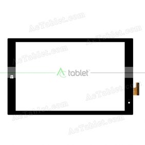 XC-PG1010-060-A0-FPC Digitizer Glass Touch Screen Replacement for 10.1 Inch MID Tablet PC