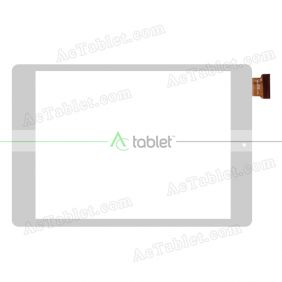 AD-C-801352-FPC Digitizer Glass Touch Screen Replacement for 8 Inch MID Tablet PC