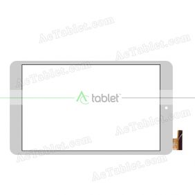 Digitizer Glass Touch Screen Replacement for Onda V80 Plus Dual OS Intel X5 8 Inch Tablet PC