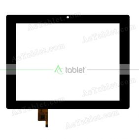 A11020800043_V02 Digitizer Glass Touch Screen Replacement for 8 Inch MID Tablet PC