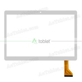 MJK-0635-FPC Digitizer Glass Touch Screen Replacement for 9.6 Inch MID Tablet PC