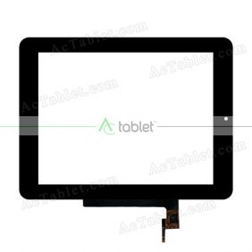 F0331 XDY Digitizer Glass Touch Screen Replacement for 8 Inch MID Tablet PC