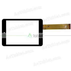 300-N4658B-A00 Digitizer Glass Touch Screen Replacement for 7.9 Inch MID Tablet PC