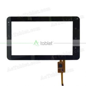 TOPSUN-G801A-A Digitizer Glass Touch Screen Replacement for 8 Inch MID Tablet PC