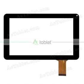Replacement Touch Screen for Hipstreet Flare 3 HS-9DTB37-8GB Quad Core 9 inch Tablet PC