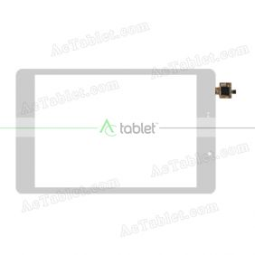PB80PGJ3625 Digitizer Glass Touch Screen Replacement for 8 Inch MID Tablet PC