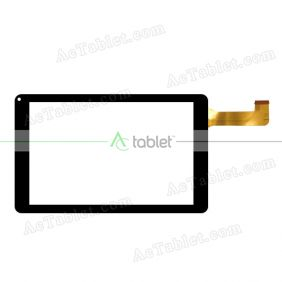 Digitizer Touch Screen Replacement for NuVision TM800A550L Z3735G Quad Core 8 Inch Windows Tablet PC