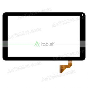 FX-C10.1-213-Vo Digitizer Glass Touch Screen Replacement for 10.1 Inch MID Tablet PC