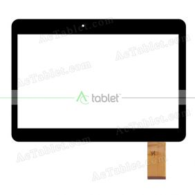 YLD-CEGA465-FPC-AO Digitizer Glass Touch Screen Replacement for 10.1 Inch MID Tablet PC