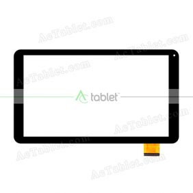 DH-1028A1-FPC104-V03 Digitizer Glass Touch Screen Replacement for 10.1 Inch MID Tablet PC