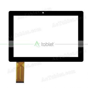 C168253E6-DRFPC397T-V1.0 Digitizer Glass Touch Screen Replacement for 10.1 Inch MID Tablet PC