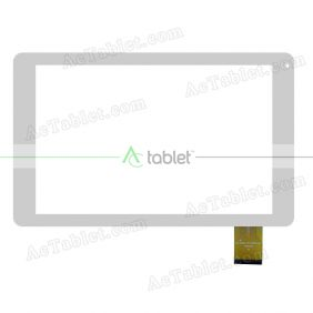 DH-1022A1-PG-FPC094-V3.0 V1.0 Digitizer Glass Touch Screen for 10.1 Inch Tablet PC