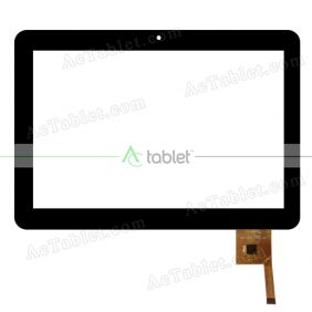 PB101A8495-T100-LTP Digitizer Glass Touch Screen Replacement for 10.1 Inch MID Tablet PC