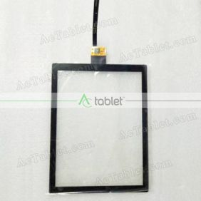 DT0080111 FP1 V02 3421B LJ Digitizer Glass Touch Screen Replacement for 8 Inch MID Tablet PC
