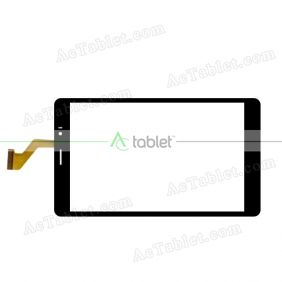 YDT1345-A0 Digitizer Glass Touch Screen Replacement for 7.85 Inch MID Tablet PC