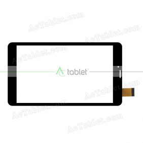 YJ314FPC-V1 Digitizer Glass Touch Screen Replacement for 8 Inch MID Tablet PC
