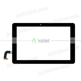 SG6286-FPC_V1-4 Digitizer Glass Touch Screen Replacement for 10.1 Inch MID Tablet PC
