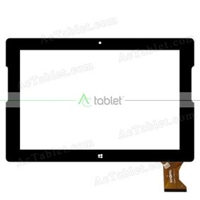 SG6267-FPC_V1-1 Digitizer Glass Touch Screen Replacement for 10.1 Inch MID Tablet PC