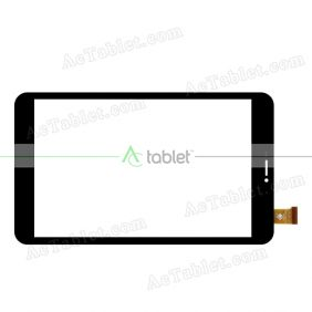 TPC1890Z VER2.0 Digitizer Glass Touch Screen Replacement for 8 Inch MID Tablet PC