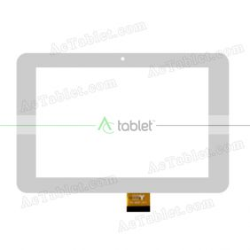 TPC-50201 V4.0 Digitizer Glass Touch Screen Replacement for 7 Inch MID Tablet PC