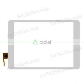 F-WGJ78025A-GDA-V2(G7029)-CT362 Digitizer Glass Touch Screen Replacement for 7.9 Inch MID Tablet PC