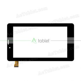 ZHPG-0314-R2-B Digitizer Glass Touch Screen Replacement for 7 Inch MID Tablet PC