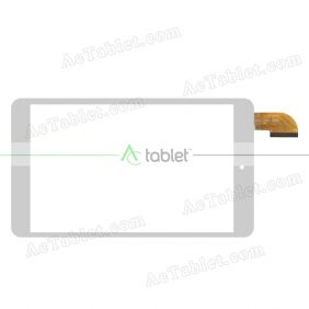 FYX P2-0350-080A Digitizer Glass Touch Screen Replacement for 8 Inch MID Tablet PC