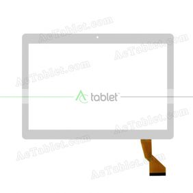 HN 1040-FPC-V1 Digitizer Glass Touch Screen Replacement for 10.1 Inch MID Tablet PC
