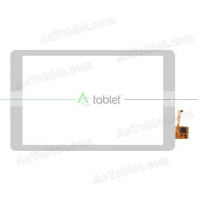 YTG-G10062-F1 V1.1 Digitizer Glass Touch Screen Replacement for 10.1 Inch MID Tablet PC