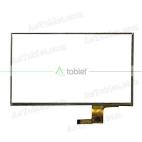 CTP070032_FPC_1.0 Digitizer Glass Touch Screen Replacement for 7 Inch MID Tablet PC