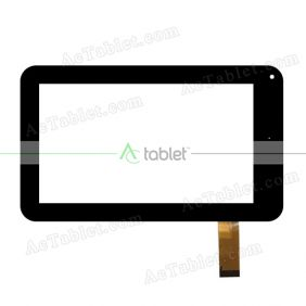 FX-TP-735 Digitizer Glass Touch Screen Replacement for 7 Inch MID Tablet PC
