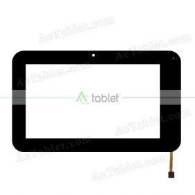 LV-T070CX-286AV1 Digitizer Glass Touch Screen Replacement for 7 Inch MID Tablet PC