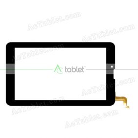 YLD-CEG7851-FPC-A1 Digitizer Glass Touch Screen Replacement for 7 Inch MID Tablet PC