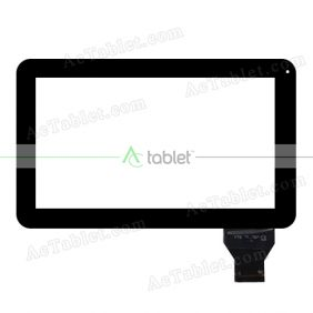 YTG-P10007-F2 V1.0 Digitizer Glass Touch Screen Replacement for 10.1 Inch MID Tablet PC